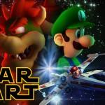 Quando você junta Mario Kart com Star Wars