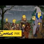 Veja a incrível abertura de Os Simpsons inspirada em O Hobbit