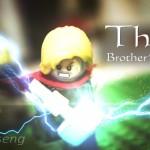 E assim Thor e Loki brigariam se fossem legos (em Stop Motion)