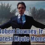 Um compilado dos melhores momentos de Robert Downey Jr.
