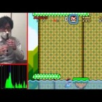 Ah, nada como jogar Super Mario World… com o NARIZ