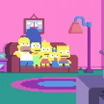A abertura de Os Simpsons recriada em poucos pixels