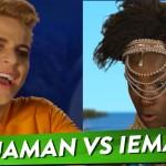 Aquaman vs. Iemanjá em uma batalha de REPENTE