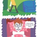 As sensação muito distintas
