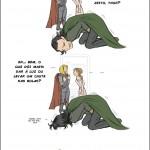 A resposta de Loki