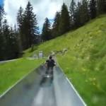 Nada me deixaria mais feliz do que experimentar esse escorregador gigante na Suiça